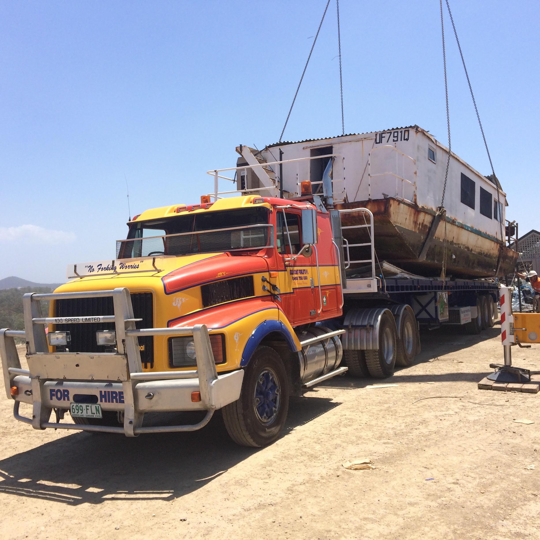 Semi Trailer Hire Transport Services Gcf