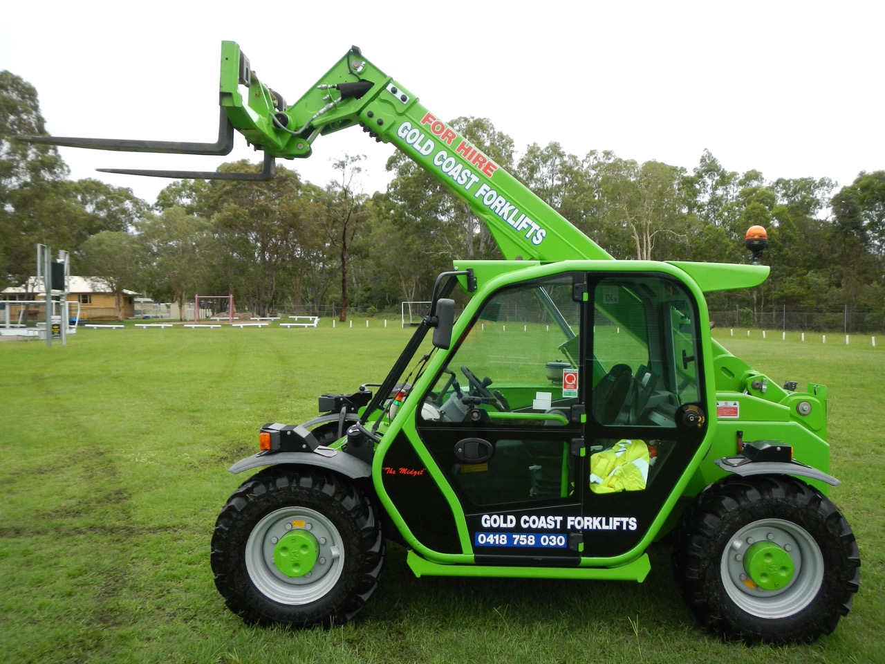 Tele Handler Section Our 25 6 Merlo Dry Hire Or Operator Service