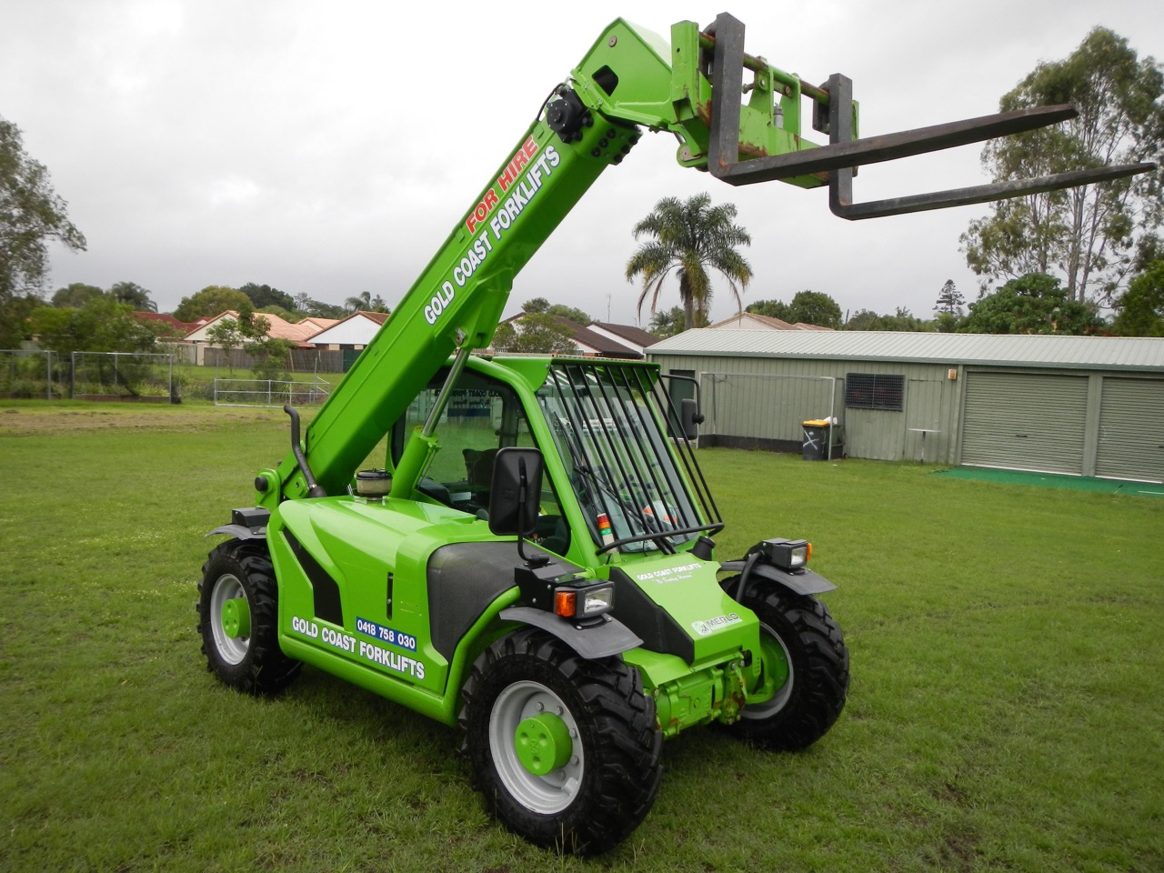 Tele Handler Section Our 25 6 Merlo Dry Hire Or Operator Service 4